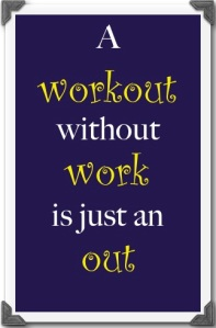 A workout without work...