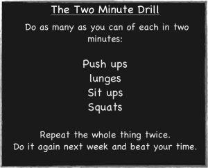 workout 8-2minutedrill