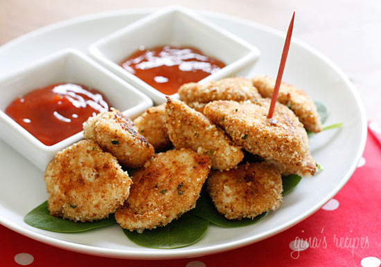 Healthy Baked Chicken Nuggets | The Weight Loss Counter Revolution