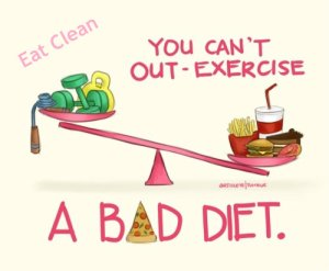 You can't out exercise a bad diet