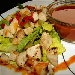 BBQ chicken salad2