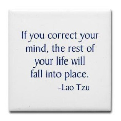 If you correct your mind