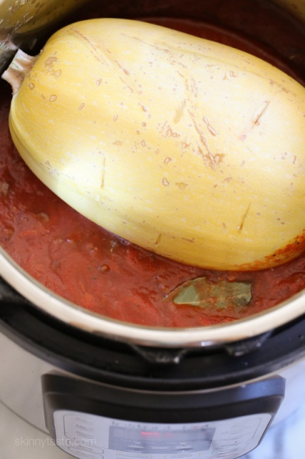 pressure-cooker-spaghetti-squash-and-meat-sauce-4