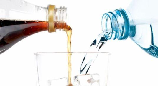 diet soda vs water