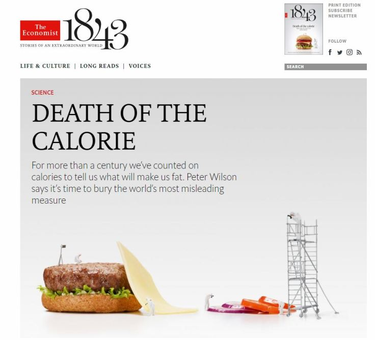 Rethinking the Calorie